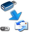 Wireless hardware keylogger