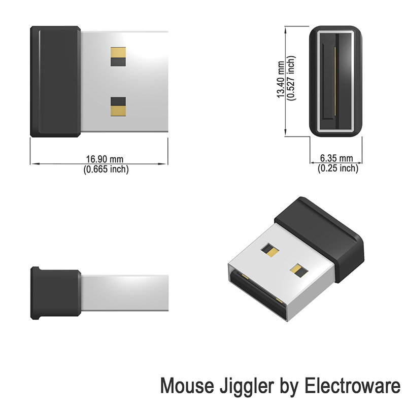 USB Mouse Jiggler Mice Mover